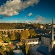 View on the old town of Luxembourg — Stock Photo
