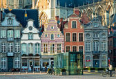 View of the Grote Markt in Mechelen — Stock Photo