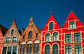 Colorful buildings in Bruges — Stockfoto