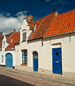 Nice houses in the old town — Foto Stock