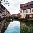 Nice houses in Petite-France in Strasbourg — Stock Photo #35600619