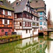 Nice houses in Petite-France in Strasbourg — Stock Photo #35993329