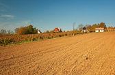 Rural house in autumn — Foto de Stock