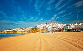 Nice view on Albufeira — Stock Photo
