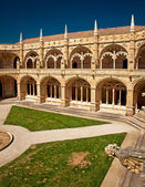 He ancient Mosteiro dos Jeronimos of Lisbon — Stock Photo