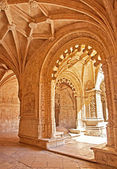 The ancient Mosteiro dos Jeronimos of Lisbon — Stock Photo