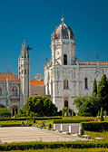 Mosteiro dos Jeronimos of Lisbon — Stock Photo