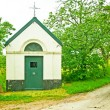 Stock Photo: Small chapel with trees