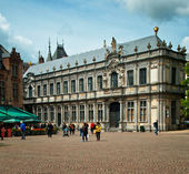 Bishop's Palace in Brugge — Stock Photo