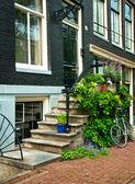улицы амстердама — Стоковое фото
