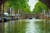 Canals of Amsterdam — Zdjęcie stockowe