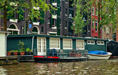 Canals of Amsterdam — Stockfoto