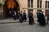Opening ceremony of KU Leuven in Leuven — Stock Photo