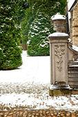 Stare Miasto leuven w zimie — Zdjęcie stockowe