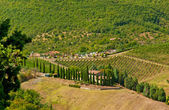 Village in the mountain in Italy — Stockfoto