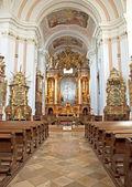 Interior of the Cistercian Zirc Abbey in Zirc, Hungary — Stock Photo