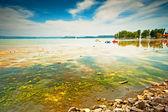 Balatonsjön i sommar — Stockfoto