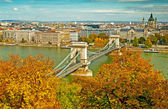 Budapest in autumn — Stock Photo