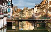 Houses in Strasbourg — Stock Photo