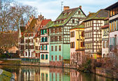 Houses in Strasbourg — Stock Photo
