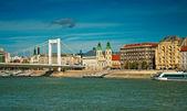 Budapest with blue sky — Stock Photo