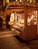 Christmas Fair in Budapest. — Stock Photo