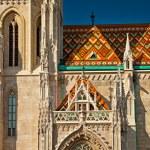 Церковь Матьяша в Будапеште — Стоковое фото #43559863