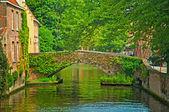 Puente en brujas — Foto de Stock