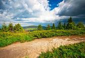 Montanha paisagem cênica — Fotografia Stock