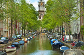 Canals of Amsterdam — Stock Photo