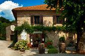 Pěkné domy na starém městě — Stock fotografie