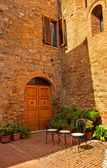 Eski şehir güzel evler — Stok fotoğraf