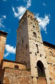 San gimignano věže — Stock fotografie