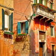 Nice old houses in Venice — Stock Photo #47678923