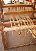 Rug weaving — Foto Stock