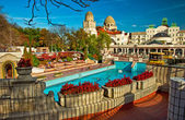 Gellert thermal baths in Budapest — Stock Photo
