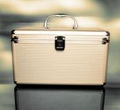 Aluminum case — Stock Photo