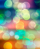 Blurry lights in rainbow colors — Stock Photo
