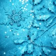 Abstract Christmas background with snowflakes — Stock Photo #16261165