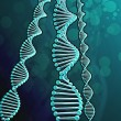Digital illustration of a dna — Stock Photo