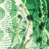 Stilisierte abstrakte Wissenschaft Hintergrund — Stockfoto