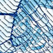 Abstraktní modré a bílé pozadí — Stock fotografie