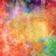 Royalty-Free Stock Photo: Abstract colored strokes