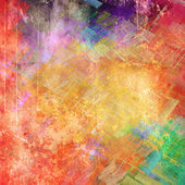 Abstract colored strokes — Stock Photo