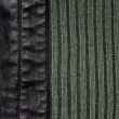 Leather and knitted wool background — Foto Stock