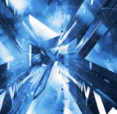 Virtuele abstracte achtergrond — Stockfoto
