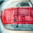 Back light of automobile — Stock Photo