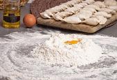 Ingrédients pour la cuisson — Photo