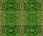 Abstract design in green tones — Stock Photo