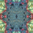 Abstract kaleidoscope design — Stock Photo